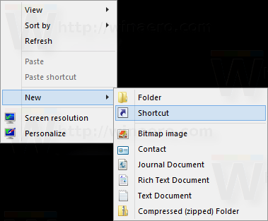 Windows 8 new shortcut