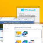 Here is how to enable the Aero Peek feature in Windows 8.1