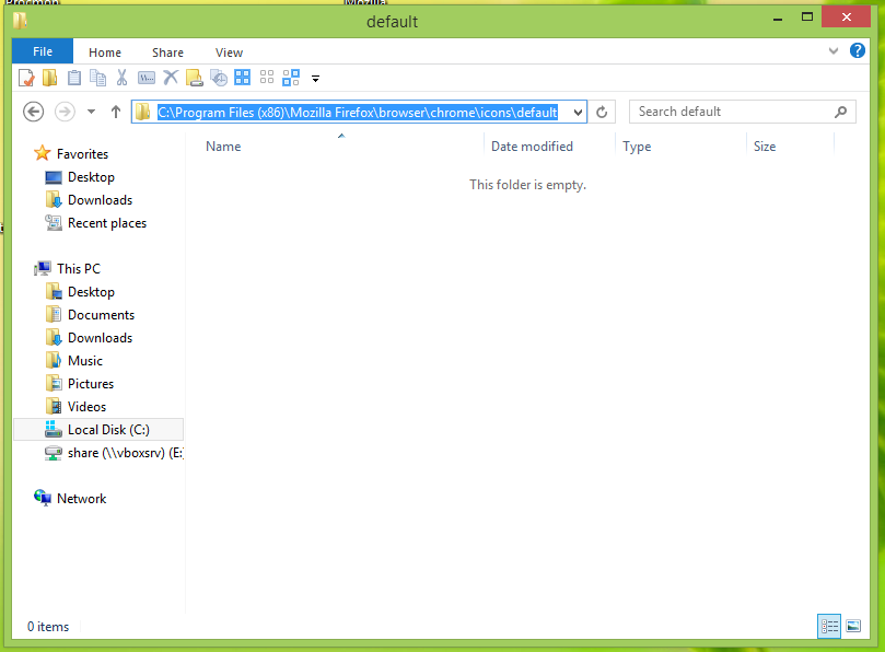 How to customize window icons in Mozilla Firefox