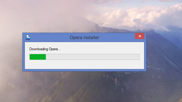 How to download the full offline installer for Opera web browser