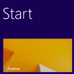 [Fix] Desktop Tile is missing on the Start screen in Windows 8.1