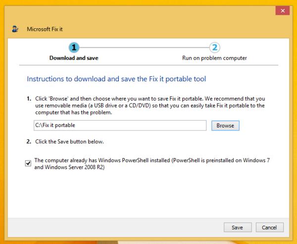 fixit download folder
