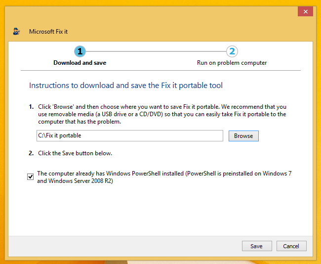 how to download microsoft fix it 51015 msi