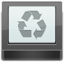 Recycle Bin free disk space