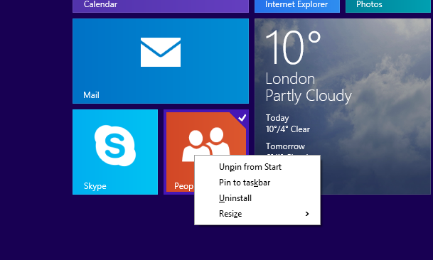 How to pin modern Store apps to the taskbar in Windows 8 1