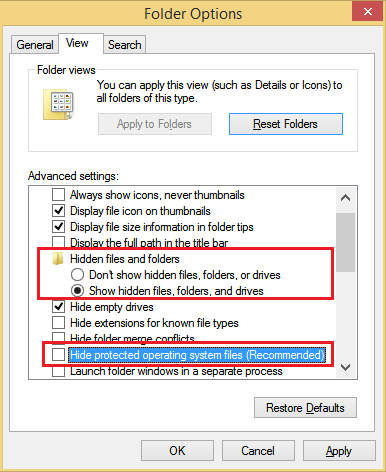 Fix broken icons and reset icon cache in Windows 10