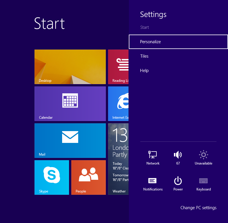 How to display Administrative tools on the Start screen in ...