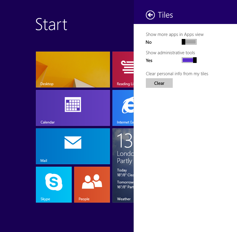 How To Display Administrative Tools On The Start Screen In