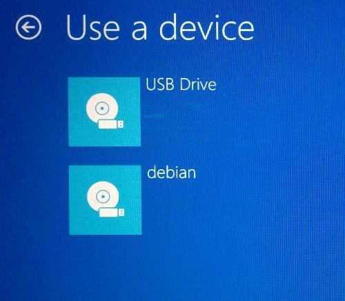 Use a device
