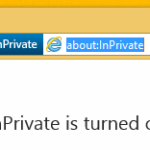 How to run Internet Explorer directly in the InPrivate mode
