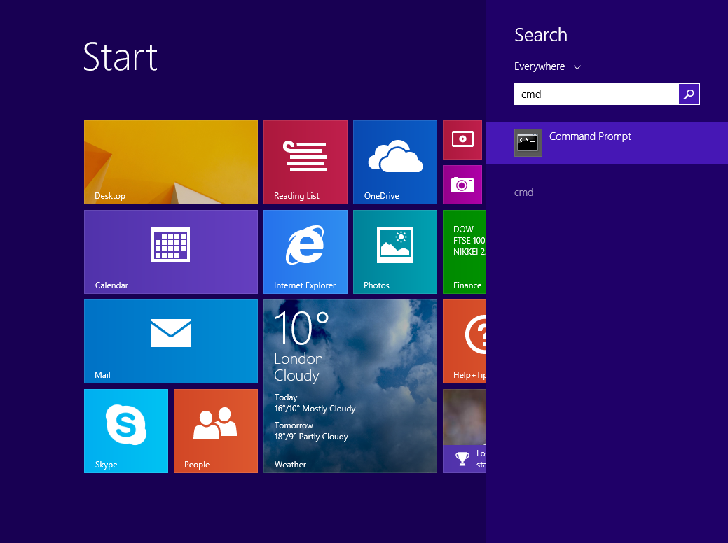 how to use command prompt to repair windows 8.1