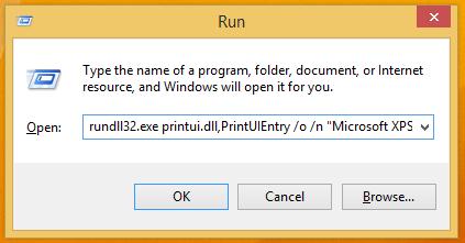 run printer queue