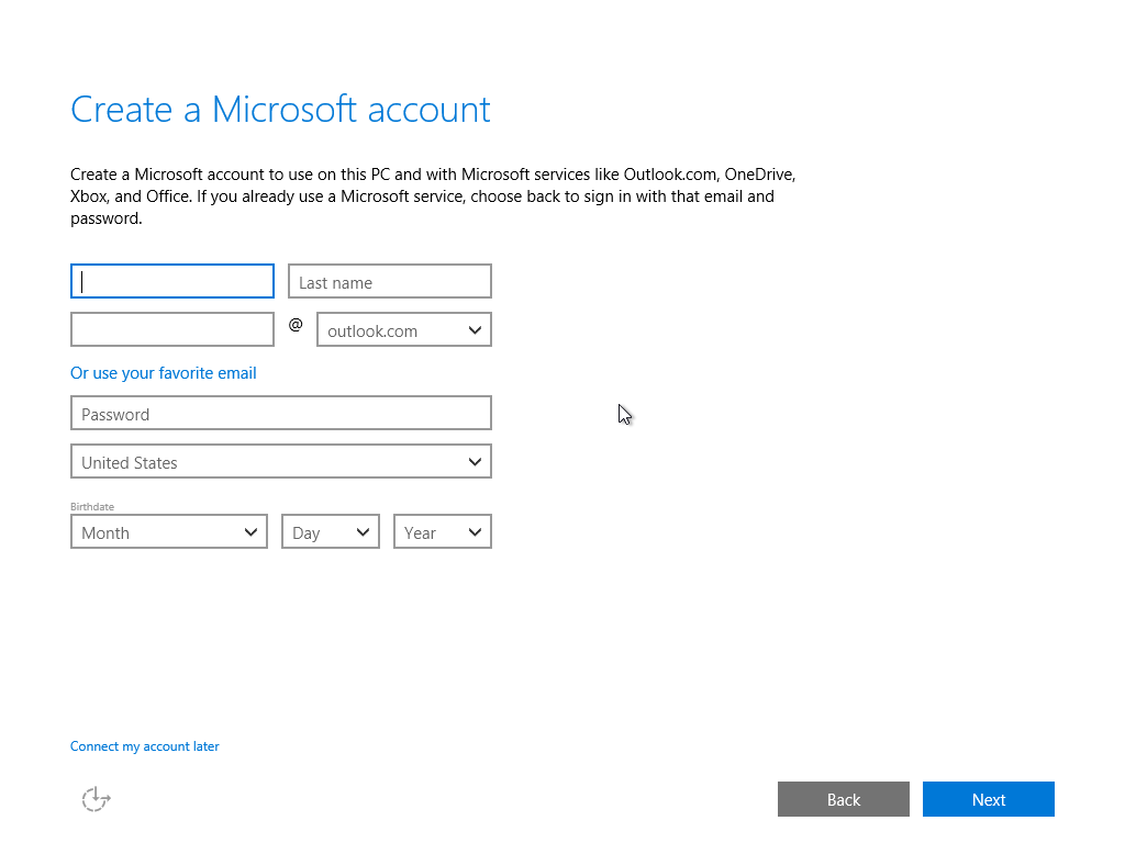 Windows 10 build 10122 forces you to use Microsoft Account