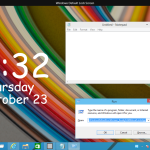 Run the Lock Screen as a regular Modern app in Windows 10 with a shortcut or command line