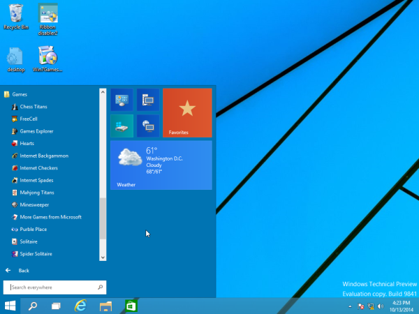 Windows 7 card games in Windows 10