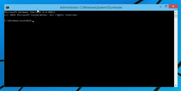 cmd elevated command prompt windows 10