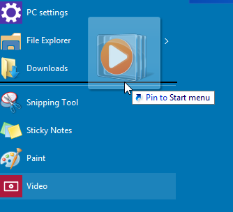 How to pin any app to the left side of the Start menu in Windows 10