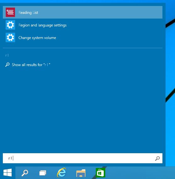 search apps faster in the start menu in windows 10