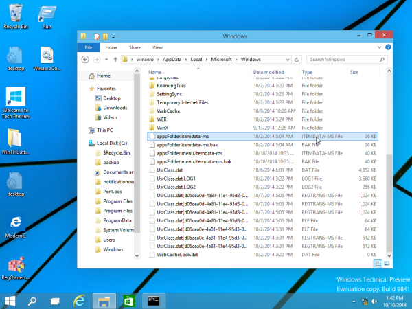 start screen file in Windows 10