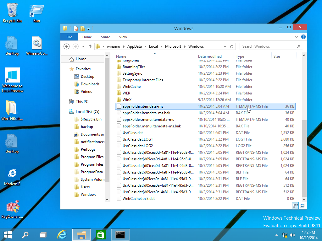 How To Backup The Start Screen Layout In Windows 10