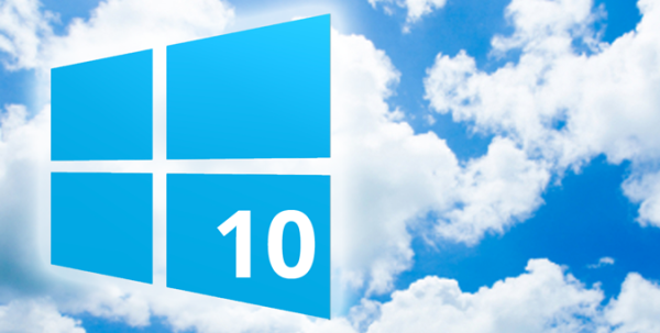 Windows 10 logo banner
