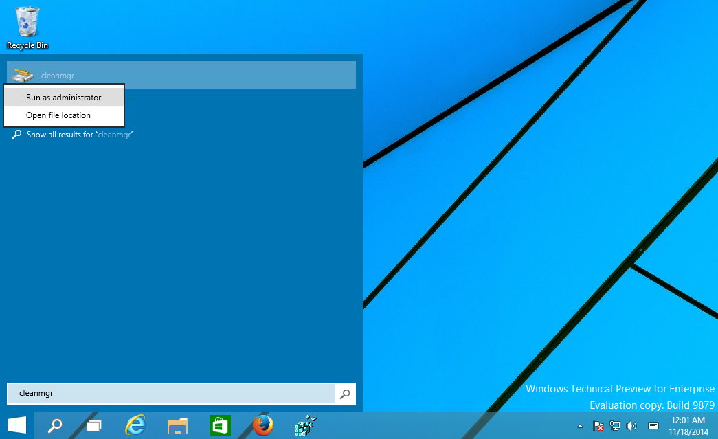 Windows 10 adds system compression to Disk cleanup