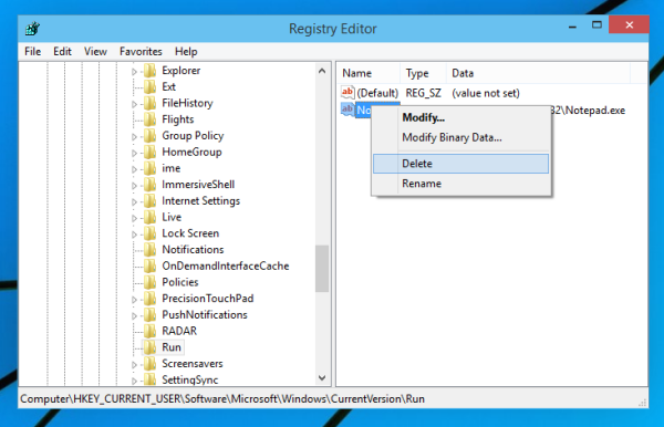 how to find a registry item in windows 10