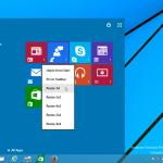 Enable secret hidden Continuum UI (new Start screen) in Windows 10 TP3