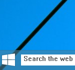 Enable hidden secret Search box in Windows 10 build 9879