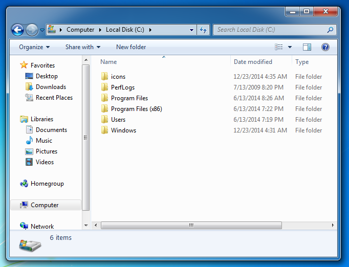 icons software for windows 7