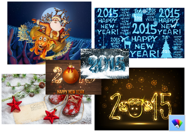 christmas new year 2015 themes for windows 10 windows 7 windows 8
