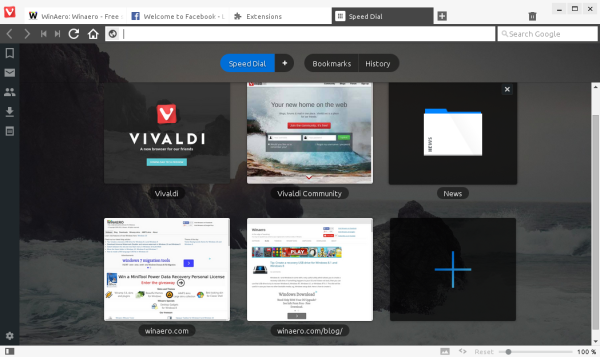 Vivaldi - A browser for all Opera 12 fans