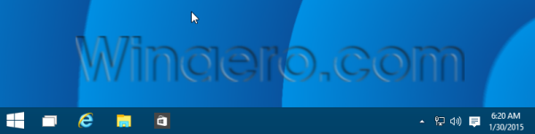 taskbar no search button in Windows 10