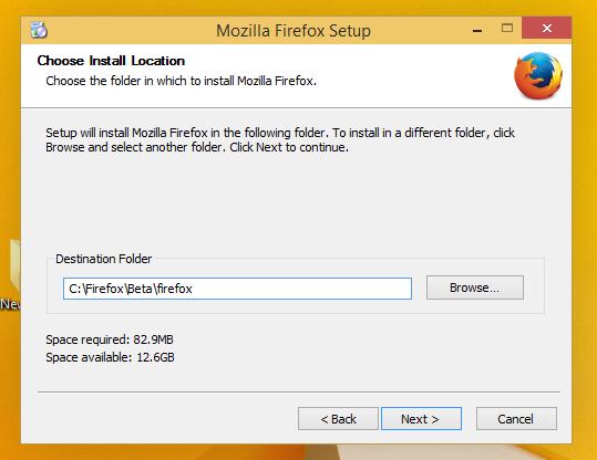 beta installer