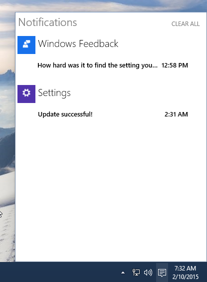 notifications disabled windows 10