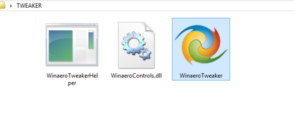 Winaero Tweaker files