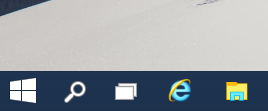 windows 10 current start button
