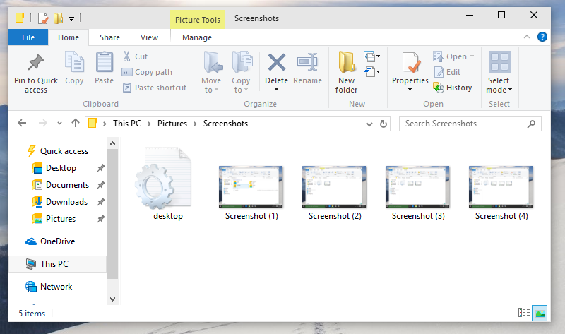 Shortcut to take screenshot in windows 10 windows 10 screenshots folder ccuart
