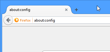 firefox enter about command