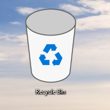 old recycle bin win 10