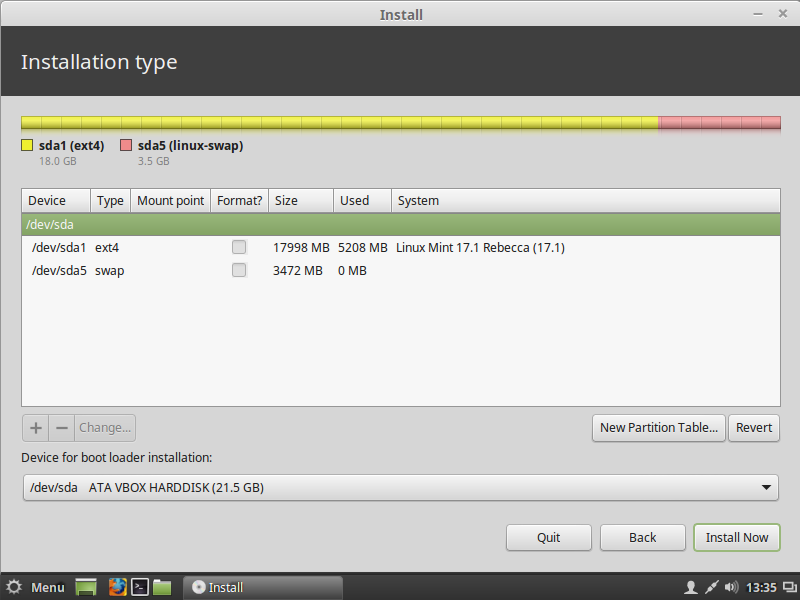 How to partition your hard drive to install Linux Mint