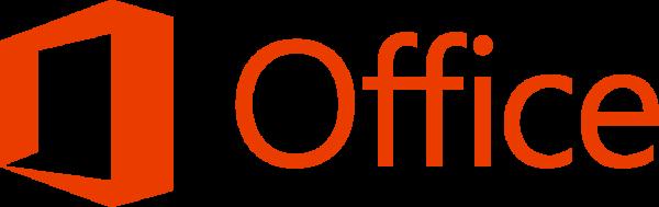 Microsoft Office logo banner