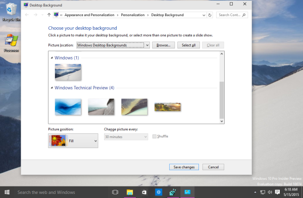 Windows 10 classic appearance wallpaper