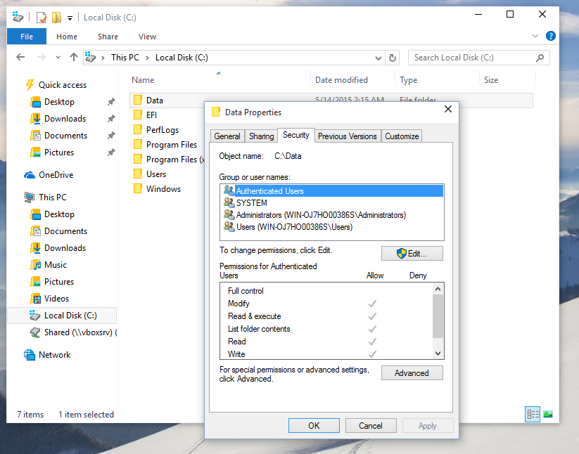 Restore the TrustedInstaller ownership in Windows 10