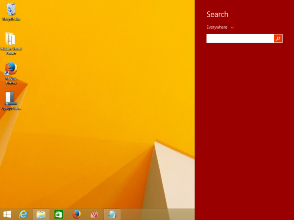 Windows 8.1 Search app