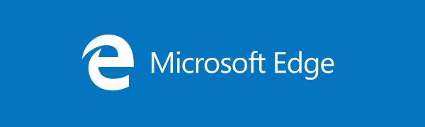 microsoft edge logo banner