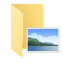 pictures folder screenshot icon