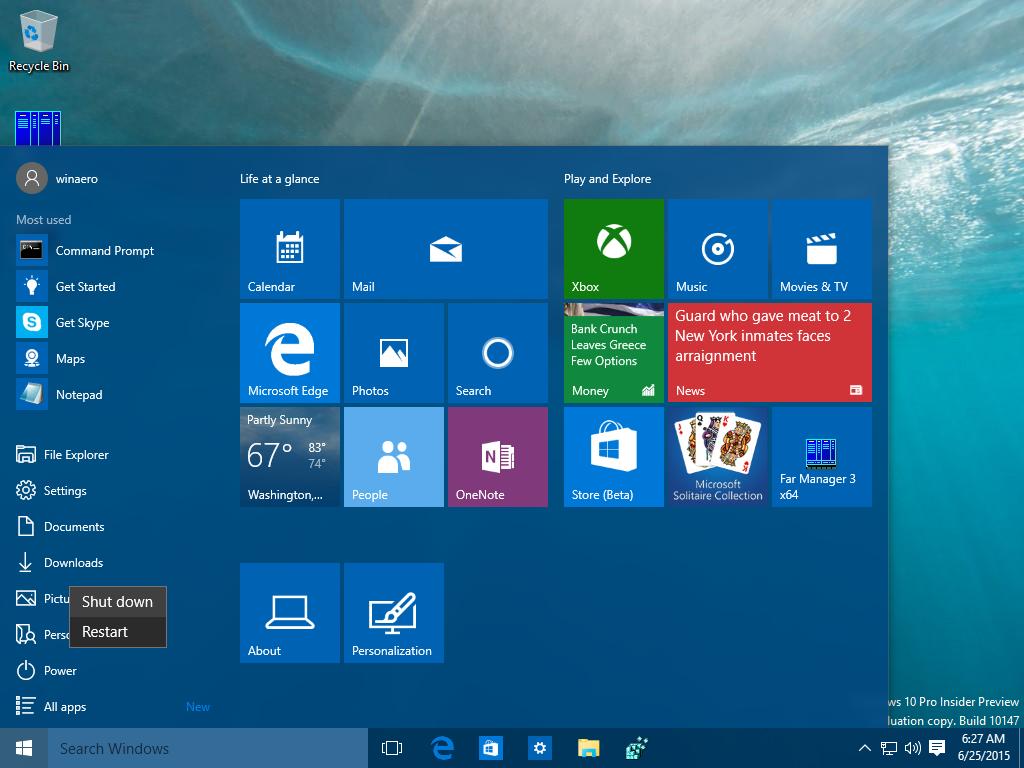 Windows Shutdown
