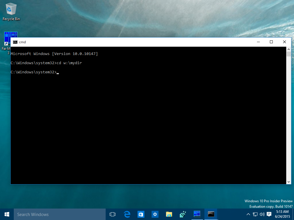 how to set aliases for the command prompt in windows