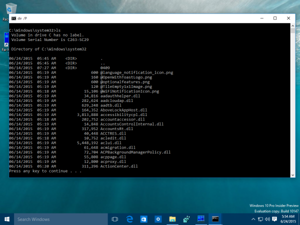 command prompt loaded aliases